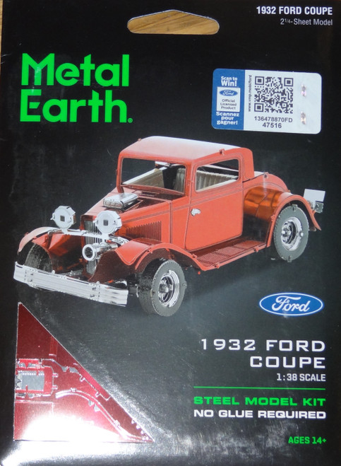 Ford 1932 Coupe Metal Earth