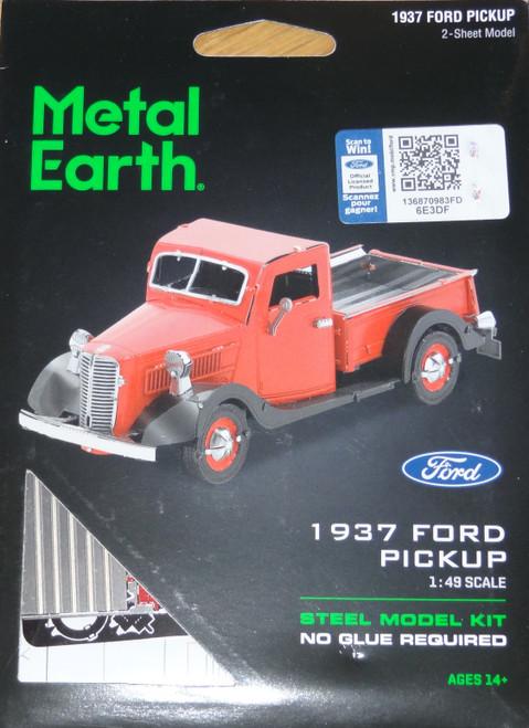 Ford 1937 Pickup Metal Earth