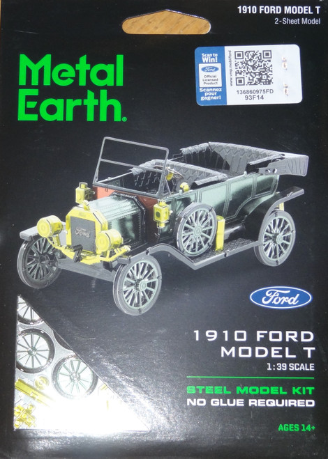 Ford 1910 Model T Metal Earth