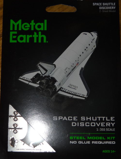 Space Shuttle Discovery Metal Earth