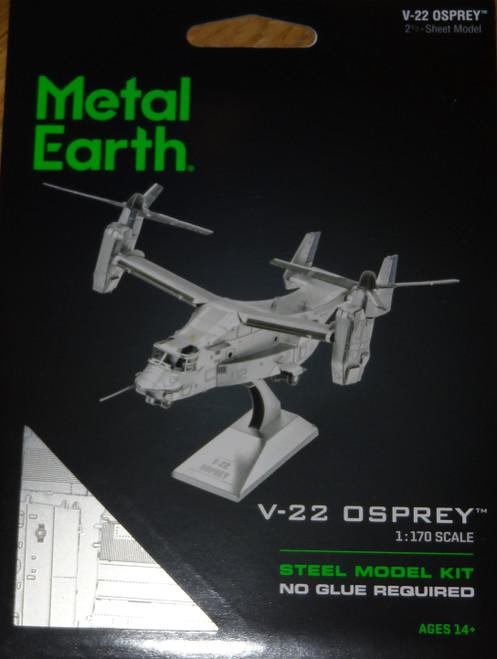 V-22 Osprey Airplane Metal Earth