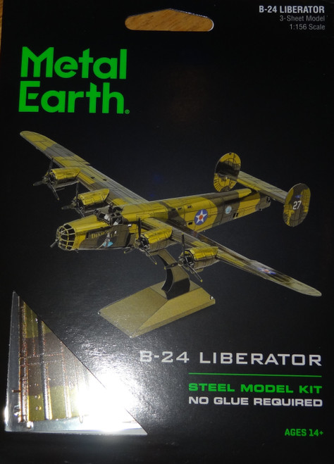 B-24 Liberator Airplane Metal Earth