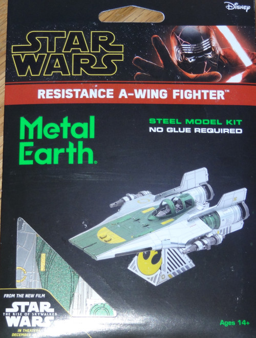 Resistance A-Wing Star Star Wars Metal Earth