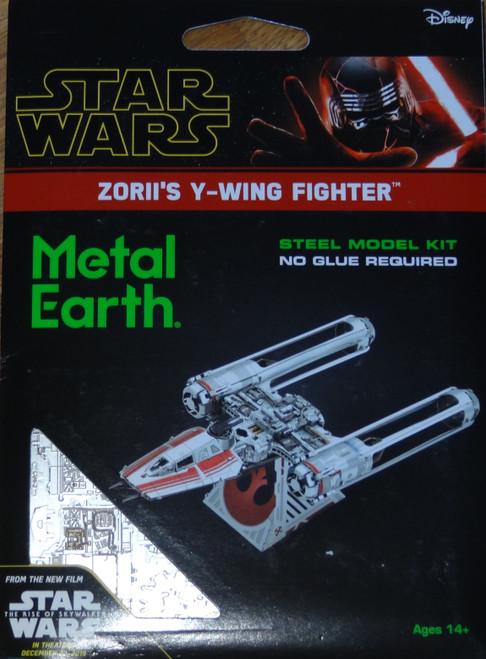 Zorii's Y-Wing Fighter Star Star Wars Metal Earth