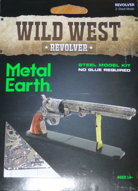 Revolver Wild West Metal Earth