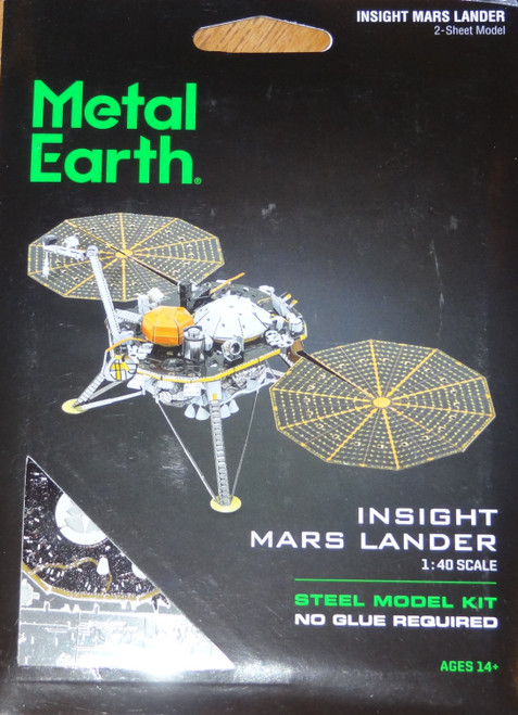 Insight Mars Lander Metal Earth
