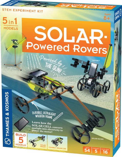 Solar Powered Rovers Science Project Kit