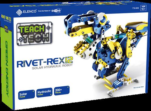 Rivet Rex12 Solar Hydraulic Robot Teach Tech
