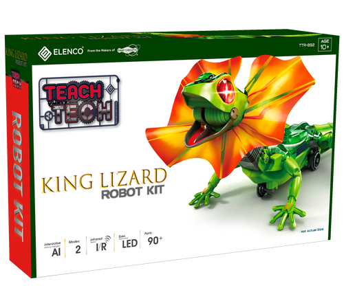 King Lizard Robot Teach Tech