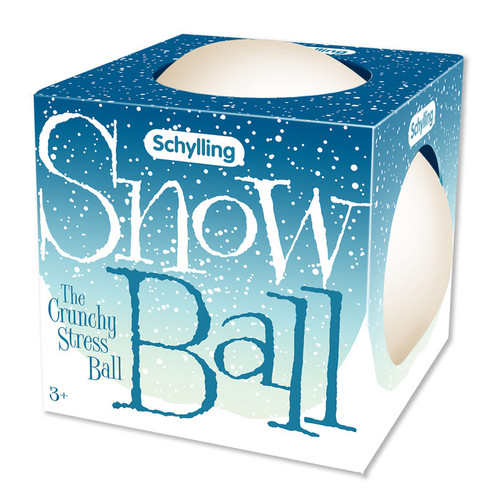 Snowball Crunch Stress Ball