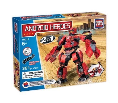 Android Heroes Robot Transformer BricTek