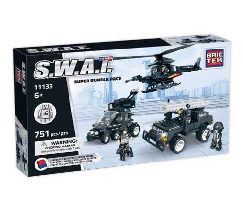 SWAT Bundle 3 Pack BricTek