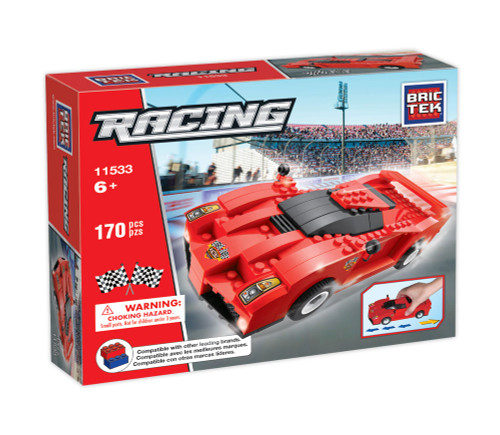Racing Track Car BricTek