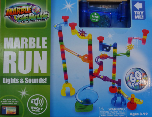 Marble Run Lights & Sound! Marble Genius
