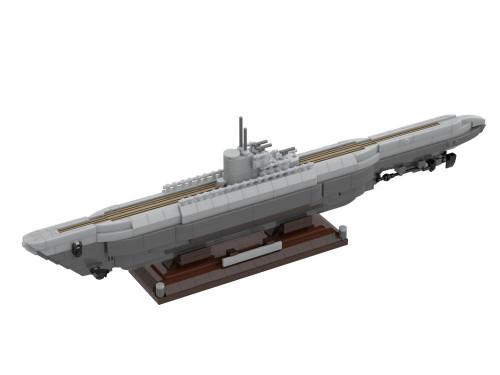 U-505 Submarine The Atom Brick