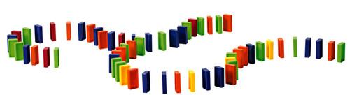 Domino Train Domino Refill Pack