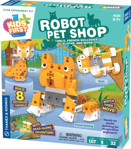 Kids First Robot Pet Shop STEM Experiment Kit