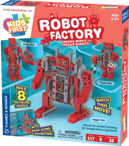 Kids First Robot Factory STEM Experiment Kit