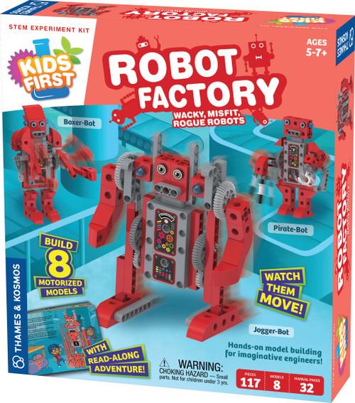 Kids First Robot Factory STEM Experiment Kit