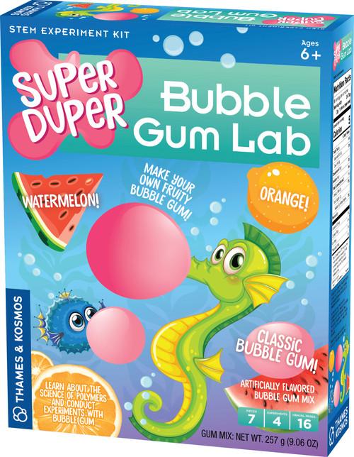 Super Duper Bubble Gum Lab Science Project Kit