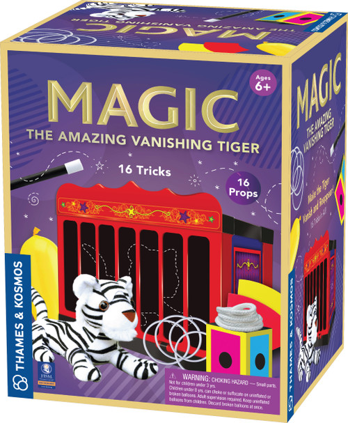 The Amazing Vanishing Tiger Magic