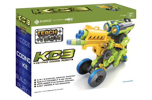 KC3 Keypad Coding Robot Teach Tech