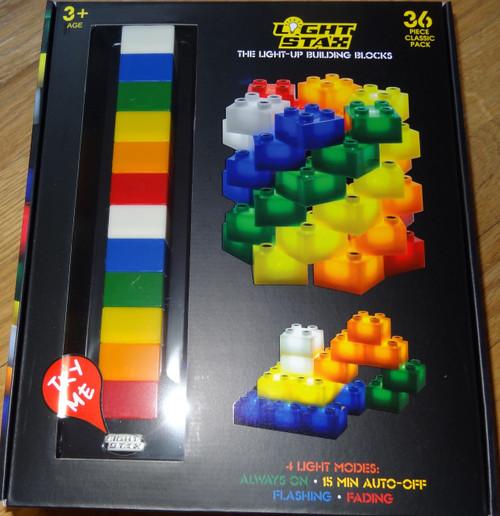 Light Stax Classic 36 piece Light up Building Block