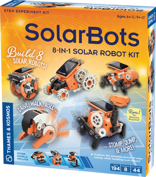 Solar Bots 8 in 1 Solar Robot Kit Science Project Kit