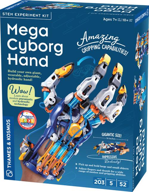 Mega Cyborg Hand Pneumatic Hydraulic Technology Experiment Kit
