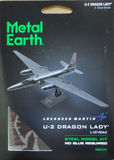 U-2 Dragon Lady Airplane Metal Earth