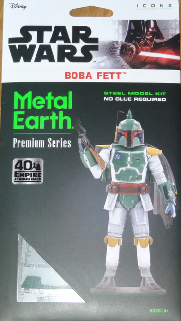 Boba Fett Star Wars ICONX 3D Metal Model Kit