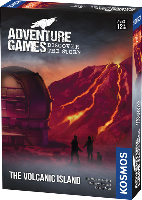 The Volcanic Island Adventure Game