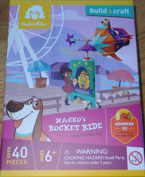 Nacho's Rocket Ride Construction Toy GoldieBlox