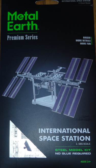 International Space Station ICONX 3D Metal Model Kit