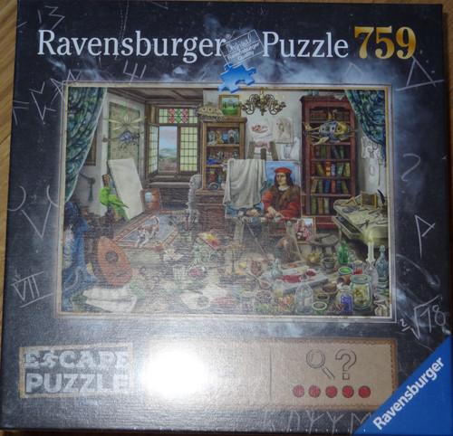 The Artist's Studio Escape Puzzle