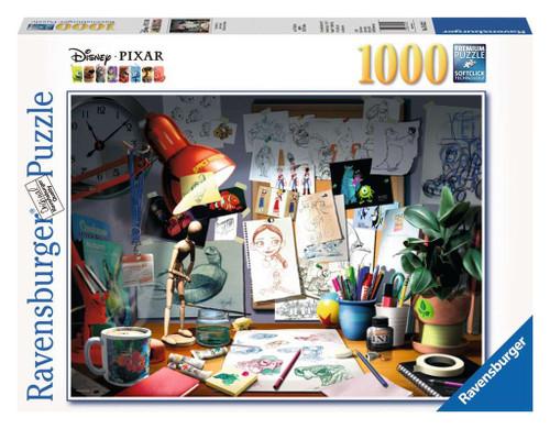 The Artists Desk Disney Pixar Puzzle