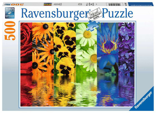 Floral Reflections Puzzle