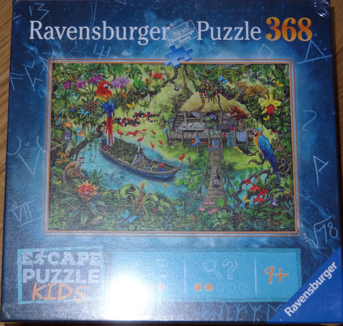 Jungle Journey Escape Puzzle Kids