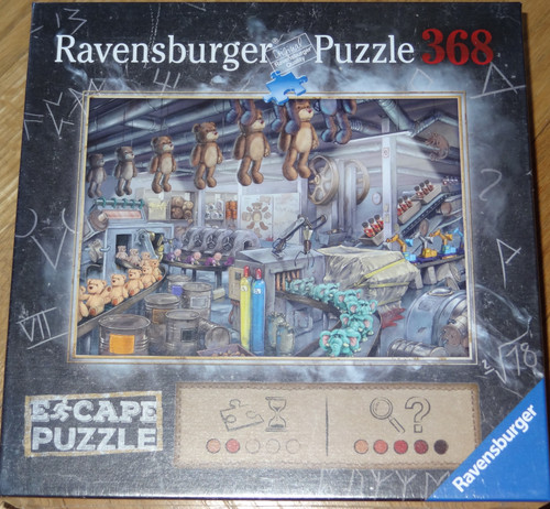 The Toy Factory Escape Puzzle