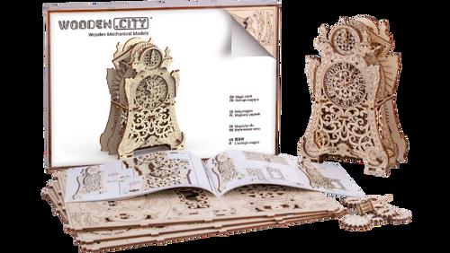 Magic Clock Wooden City