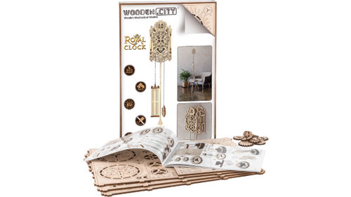 Royal Clock Wooden City