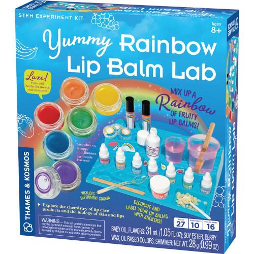 Yummy Rainbow Lip Balm Lab Experiment Kit