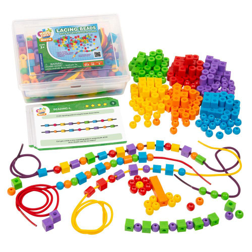 Lacing Beads Kids First Math Kit