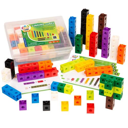 Linking Cubes Kids First Math Kit