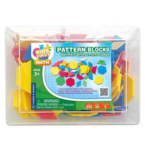 Pattern Blocks Kids First Math Kit