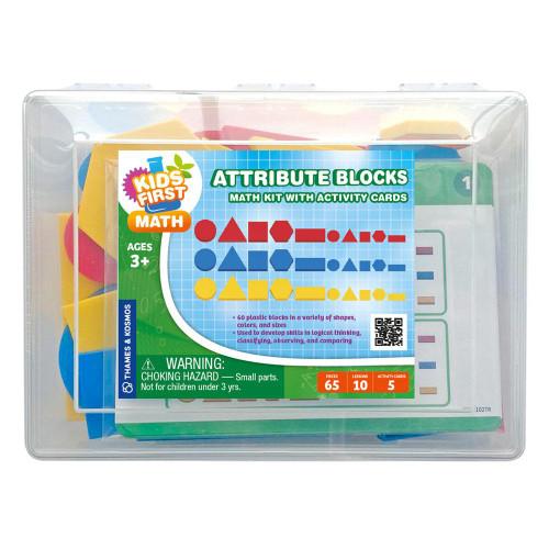 Attribute Blocks Kids First Math Kit