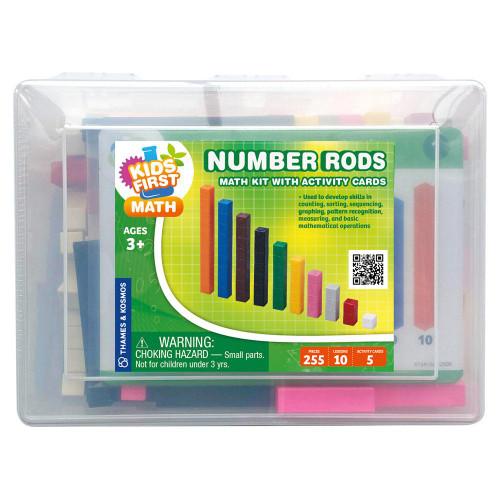 Number Rods Kids First Math Kit
