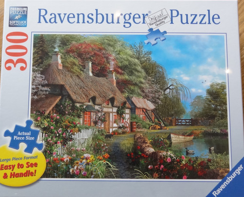 Cottage On A Lake Puzzle