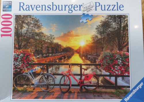 Bicycles in Amsterdam Puzzle