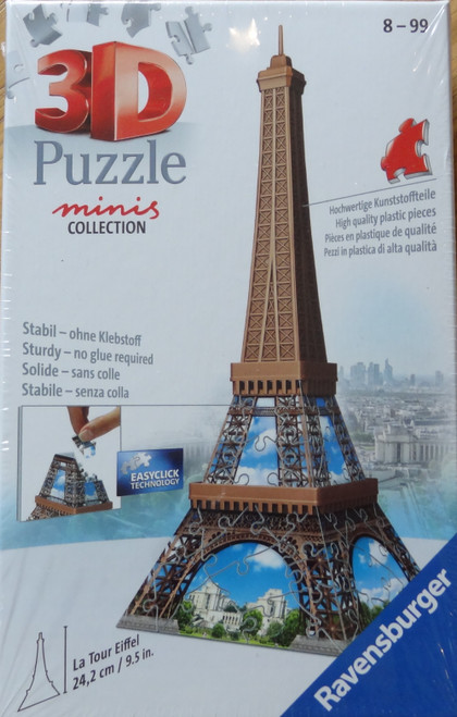 Eiffel Tower Minis Collection 3D Puzzle